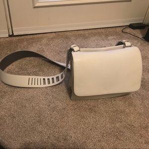 Vince white crossbody bag
